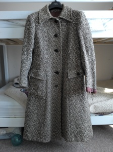 Front view of the coat