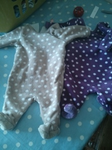 2 cute soft onesies