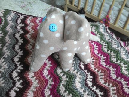 Upcycled baby onesie