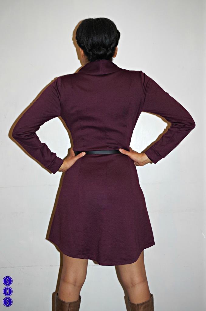 dakota dress back