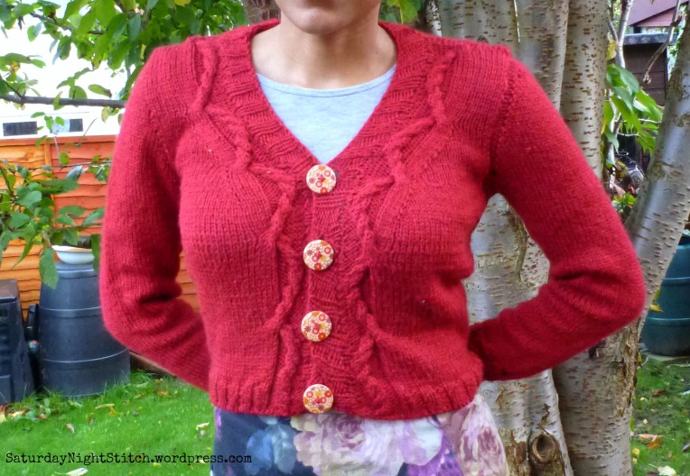 Marion Cardigan by Andie Sutterland