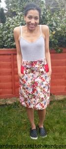 Burda Kasia Skirt