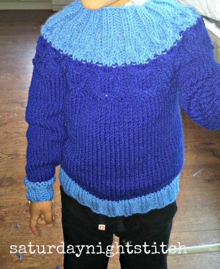 Kate Davies Owlet Sweater