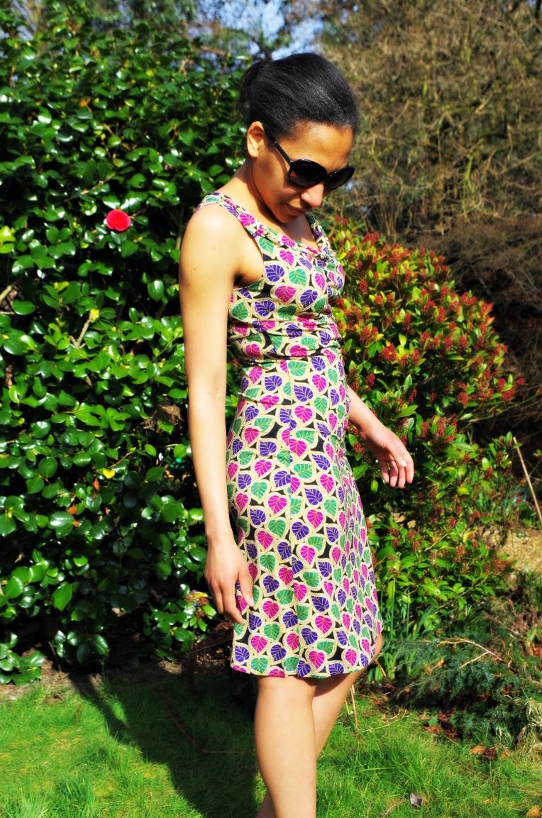 Drape dress1