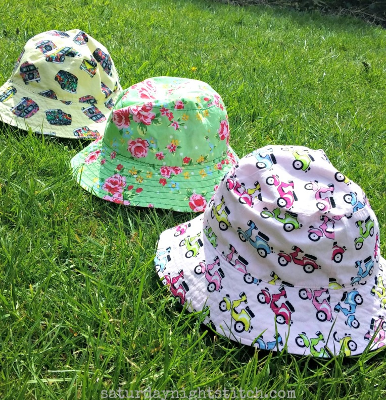 Oliver and S reversible sun hats