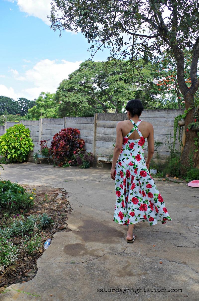 Burda 07/2015 Maxi Dress