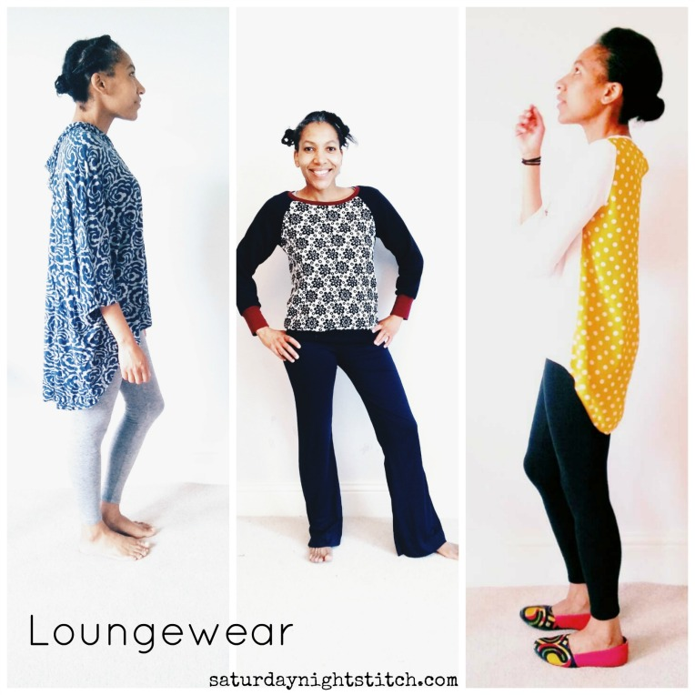 Loungewear Collage Collage