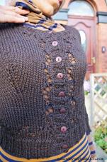 Miette Cardigan - I like the eyelets