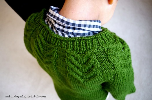 Antler Cardigan -I love the yoke.